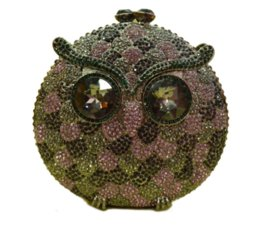 Crystal animal evening bags online shopping - Dgrain Hollow Out Owl Women Crystal Clutch Evening Bag Animal Diamond Minaudiere Handbag Wedding Purse Small Dinner Purses