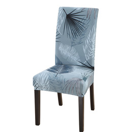 $enCountryForm.capitalKeyWord Australia - Mecerock New Arrival Printed Spandex Slipcovers for Hotel Banquet Light Green Stretch Seat Chair Covers with Rubber Band