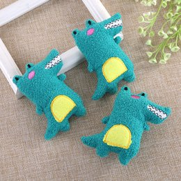 lol accessories Australia - Crocodile Stuffed Animals Doll Plush Accessories WIP Factory 10CM Cartoon Stuffed Doll Kids Toys lol Gifts