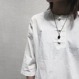 Necklaces Pendants Australia - 2019 Korean Version of Fashion New Dark Style Necklace Simple Niche Design Black Agate Transshipment Bead Pendant Necklaces