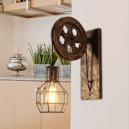 $enCountryForm.capitalKeyWord NZ - Loft Retro Lanterns Fixtures Pulley Wall Lamp Pendant Suspension Light Fitting Kitchen Bedroom Living Room Wall Lamp Bra Sconce