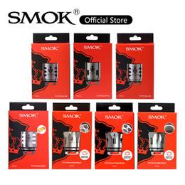 max strip 2019 - SMOK TFV12 Prince Mesh Coil 0.15ohm V12 Prince Strip Max Mesh Q4 M4 X6 Coils Head For Stick Prince Kit 100% Original