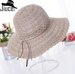 $enCountryForm.capitalKeyWord Australia - 2019 new hot casual personality Korean lace hollow sunshade female spring and summer casual wild fisherman hat collapsible sun beach hat