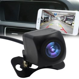 real time mini camera Australia - Tachograph Waterproof Backup HD WIFI Night Vision Vehicle Mini Car Real Time Rear View Plate Frame Reversing Camera Practical