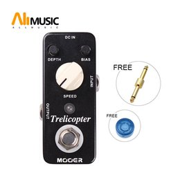 pedal mooer UK - Mooer Trelicopter Optical Tremolo Pedal Classic optical tremolo with huge range of speeds and depths Full metal shell True bypass MU0339