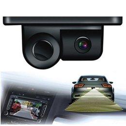 Hd Hot Car NZ - Esky 170 Degree Viewing Angle HD Waterproof Car Rear View Camera with Radar Parking Sensor hot