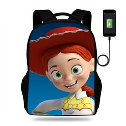 $enCountryForm.capitalKeyWord Australia - 16inch cartoon Schoolbags Bags For Boys USB Charger laptop Backpack Teenagers Children Backpacks Girls travle Bag