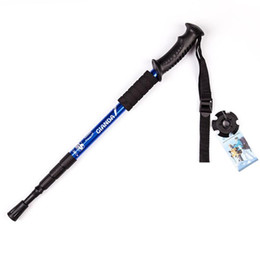 $enCountryForm.capitalKeyWord Australia - Anti Nordic Walking Stick Trekking Hiking Pole Ultralight Walking Cane with Rubber Tips Protectors Z50