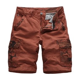 Sd Brand Shorts Men Casual Cotton Baggy Shorts Pockets Comfortable Casual Quick Dry Masculino Loose Cargo Knee Length Short 125 New Varieties Are Introduced One After Another Men's Clothing