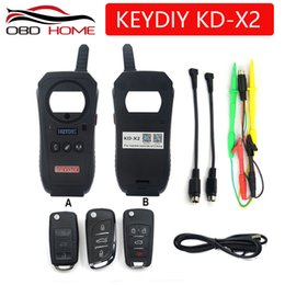 Function Connectors Australia - OBD2 Car Diagnostic Tool KD-X2 kd X2 Remote Maker Unlocker with Free ID48 96bit Transponder Copy Function English Version