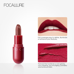 $enCountryForm.capitalKeyWord Australia - FOCALLURE Matte Lipstick Makeup Waterproof Velvet Matte Nude 8 colors Moisturizer Lipstick Set