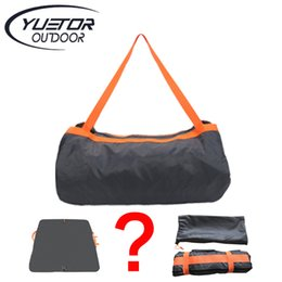 Wholesale Multifunction Ultralight Travel Storage Bag Waterproof Carpet Camping Mat Beach Mat Outdoor Picnic Blanket Bag