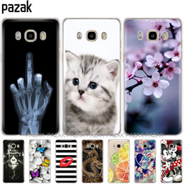Silicone Pop Phones Australia - Silicone phone Case For Samsung Galaxy J7 J710 J710F Cases JCover FOR Samsung J7 Case shell new design pop