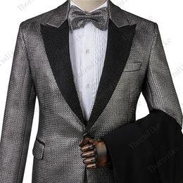 $enCountryForm.capitalKeyWord Australia - Thorndike Shiny Fabric Men's Formal Wearl Suits Wedding dress Suit Jackets+Vest+Pants High Quality Men Smart Casual Slim 3 Piece