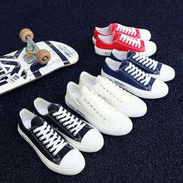 $enCountryForm.capitalKeyWord Australia - Fall Plain Color Women Casual Shoes Teen Street Outfits Men Ulzzang Brand Fashion Plimsolls Spring Footwear Teenager Canvas Shoes