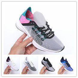 Boots Shock Australia - Exp-X14 men designer shoes cicada wings shock absorber cushion brand Black White women running shoes sneaker trainer jogging men sport shoes