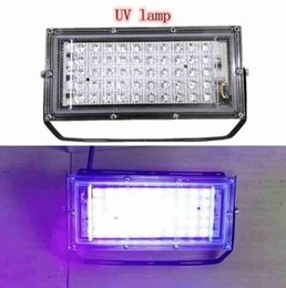led street light casting Australia - 50W LED UV Germicidal Lamp Flood Light 110V 220V Spotlight Floodlight Outdoor Garden Wall lamp Street Led Reflector Cast light MYY