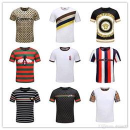 b38610c6 Best Mix 20 models Zecmos Deep o Scoop Neck T-Shirt Men Basic Top Tees Men  Casual Male Slim Fit T Shirt Luxury Curved Hem Navy Tee Muscle