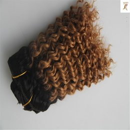 Types Human Hairs Australia - Two Types Color Peruvian Deep Wave Hair Bundle 100% Human Hair Weave 10-30 Inchs Unprocessed Virgin Bundles Hair Extensions