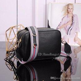 $enCountryForm.capitalKeyWord Australia - High quality fashion women MICHAEL Tom handbags lady fashion trend classic striped strap shoulder Messenger bag camera bag