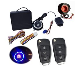 Hot 1-Way Alarm System Remote Keyless Entry Car Engine Start Stop Push Button GL