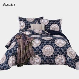 Biancheria da letto Queen Comforter Set 3D Copripiumino per adulto Copripiumino in casa Set copripiumino matrimoniale in Offerta
