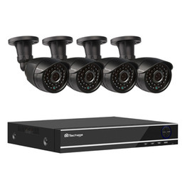 Dvr Set NZ - Techage XMeye 4CH 1080P AHD DVR Kit Security CCTV System 1080P 2MP Outdoor IR Night Vision Camera Video Surveillance Set 2TB HDD