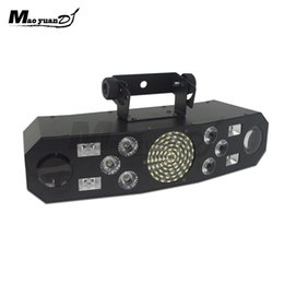 Products Usa Australia - New Products Stinger multifunctions (5-FX-In-1) Laser+Strobe+LED Moon flower superstar Effect Lights DJ Disco Stage Evening Show Beam Light