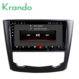 "Android Mobile Big NZ - Krando Android 8.1 10.1"" Full touch Big screen car multimedia system for Renault Kadjar 2015 GPS navigation player radio BT wifi car dvd"