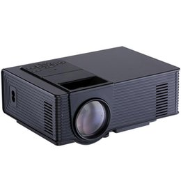 $enCountryForm.capitalKeyWord Australia - Projector 1500 Lumens 800 x 480 Pixels 1080P Media Player Home Theather LED Projector EU US Plug with Remote Control