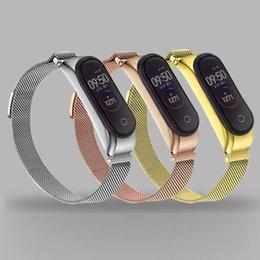 $enCountryForm.capitalKeyWord Australia - Metal Bracelet For Xiaomi Mi Band 4 Sport Replacement Strap Wristband Accessory