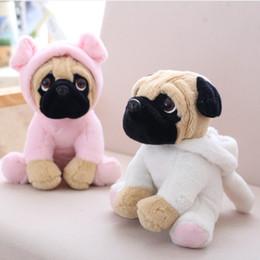 $enCountryForm.capitalKeyWord NZ - 15pcs 20CM Stuffed Simulation Dogs Plush Sharpei Pug Lovely Puppy Pet Toy Plush Animal Toy Children Kids Birthday Christmas Gifts