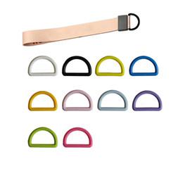 البلاستيك D على شكل مشبك ل Soothers دمية حزام حامل 2CM متعددة الوظائف D حزام حزام مشبك حزام المعصم حقيبة التبعي