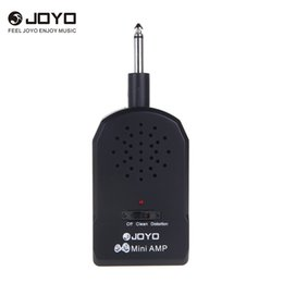 Mini guitar aMps online shopping - JOYO JA Mini Guitar Amplifier AMP MP3 Input mm with Earphone electric guitars Bass Guitar