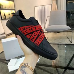 Wholesale 2019 new fashion brand senior handmade men s The bone ribbon printing embroidery Net cloth breathable leisure sports shoes size