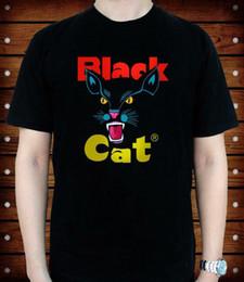 bfa4d645e576 BLACK CAT FIREWORKS LOGO NEW TEE USA SIZE T-SHIRT Funny free shipping  Unisex Casual top