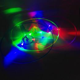 Flashing Helicopter Toy Australia - Amazing Flash Flying LED Arrow Helicopter Toys Novelty LED Toys Three Light-emitting Pull Children's Toys Christmas Gifts