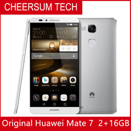 Wholesale android phone huawei ascend resale online - Global Firmware Huawei Ascend Mate G LTE Cell Phone Anroid quot FHD X1080 GB RAM GB ROM mAh Fingerprint NFC