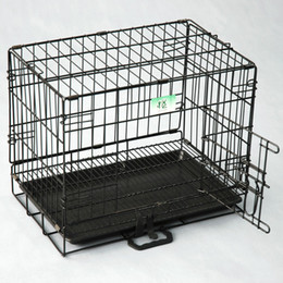 $enCountryForm.capitalKeyWord Australia - 2 Doors Wire Folding Pet Crate Dog Cat Cage Suitcase Kennel Playpen With Tray(Factory Direct Selling, Sample Selling)