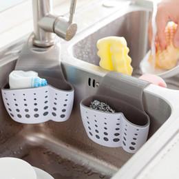 $enCountryForm.capitalKeyWord NZ - Double Side Kitchen Organizer Sink Hangable Storage Basket Faucet Sponge Holder Soap Brush Organization