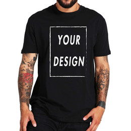 $enCountryForm.capitalKeyWord Australia - Eu Size 100% Cotton Custom T Make Your Design Logo Text Photos Summer Tops Tee Paper Shirt For Men Q190518