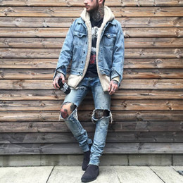 urban swag clothes Australia - Fashion-Sherpa hoodie streetwear cool kanye west clothing fashion hip hop skateboard urban clothes swag Men hoodies Hooded Cardigan
