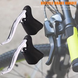 $enCountryForm.capitalKeyWord Australia - 2pcs Lightweight Aluminum Bicycle Brake Handle MTB Mountain Bike Cycling Brake Levers Front Rear Levers Drop Handlebar Set