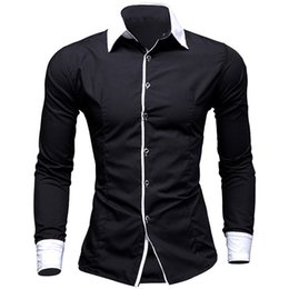 $enCountryForm.capitalKeyWord UK - EINAUDI New Mens Dress Shirts Casual Shirts Hawaiian Style Slim Long Sleeve Dress Camisa Masculina Casual M-XXL