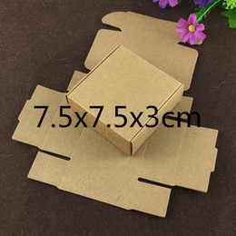 art paper sizes Australia - 20pcs Natural Kraft Aircraft Paper Box Multi-size Choose European Gift Box lipstick Packaging Carton Art Jewelry Small Box