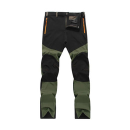 New Breathable Quick Dry Thin Pants Summer Male Outdoor Sport Trekking Trousers Camping Hiking Pants,4XL VA004 on Sale