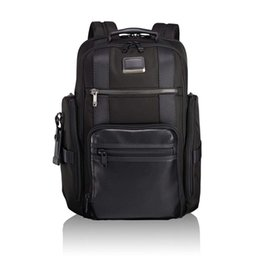 Горячие продажи TUMI баллистический нейлон 232389 мужчины бизнес повседневная большой емкости рюкзак ноутбук сумка черный синий Mix способ бизнес повседневная мода
