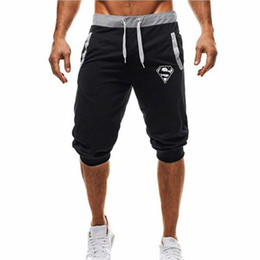 Wholesale mens lightweight summer cotton trousers resale online – Mens Baggy Jogger Casual Slim Harem Shorts Soft Trousers Fashion New Brand Men Sweatpants Summer Comfy Male Shorts New
