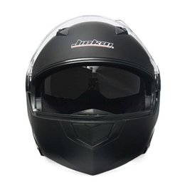 helmet black Australia - Hot Sale Black Double Lens Motorcross Helmet Motorcycle Flip Up Helmet Motocicleta Casco Helmets 2 Colors M L XL Cool Helmets