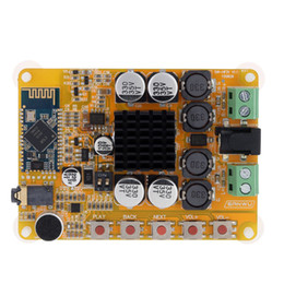 Module sound online shopping - 2 Channel Stereo Sound With Microphone Board Module Receiver Bluetooth Digital Power Wireless Mini Speaker Accessories
